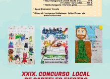 XXIX. CONCURSO LOCAL DE CARTELES DE FIESTAS DE IRURTZUN